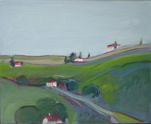 , 'Hillside,' 2016, Caldwell Snyder Gallery