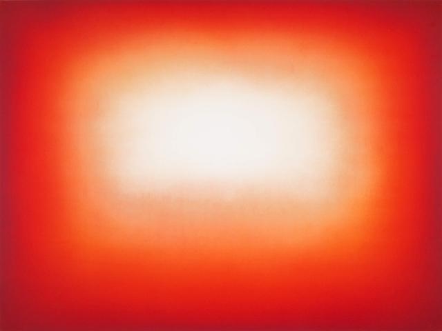 , 'Red Shadow 1,' 2016, Galería La Caja Negra