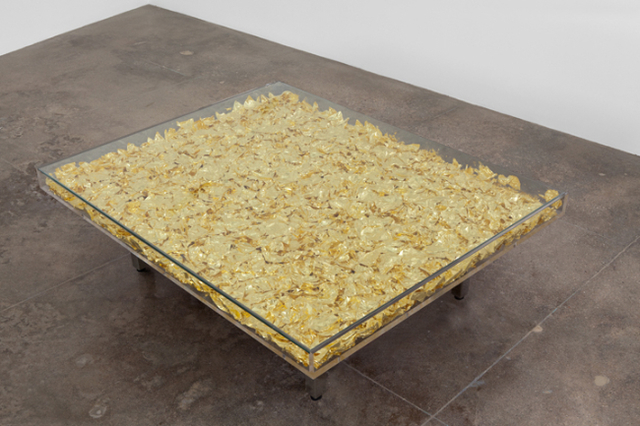 Yves klein table d 39 or 1963 available for sale artsy for Table yves klein