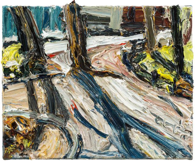 , 'Baumschatten,' 2017, Galerie Kornfeld