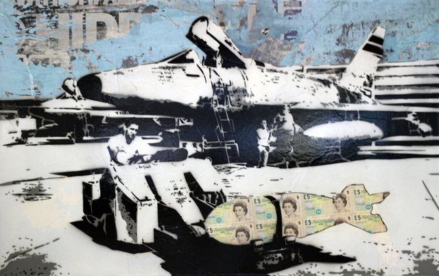 Rich Simmons, 'Rich Simmons, The Money Bomb', 2017, Oliver Cole Gallery