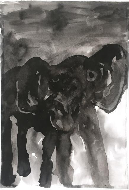 , 'Junge Elephant (engl.: young Elephant),' 2017, DAS ESSZIMMER