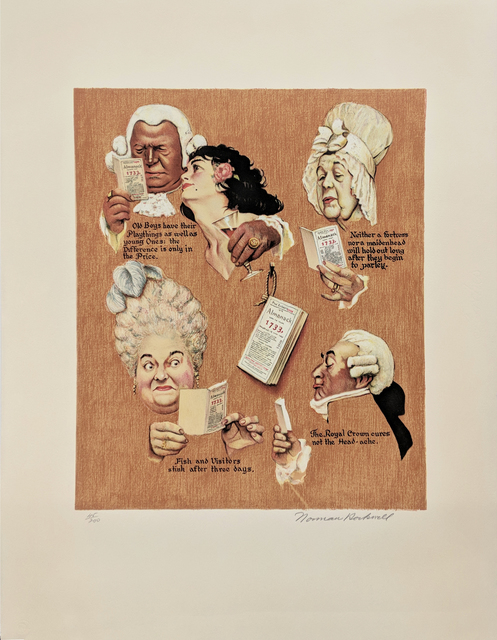 Norman Rockwell, 'THE ROYAL CROWN', 1973, Gallery Art