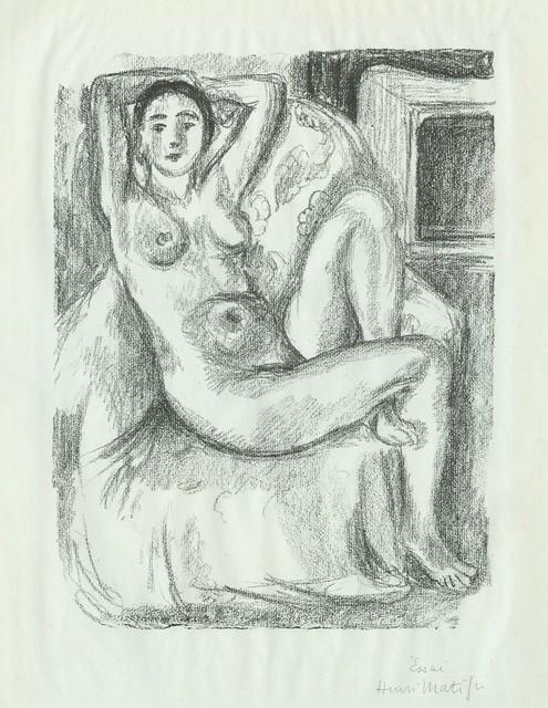 , 'Nu au Fauteuil Bistre,' 1925, Armstrong Fine Art