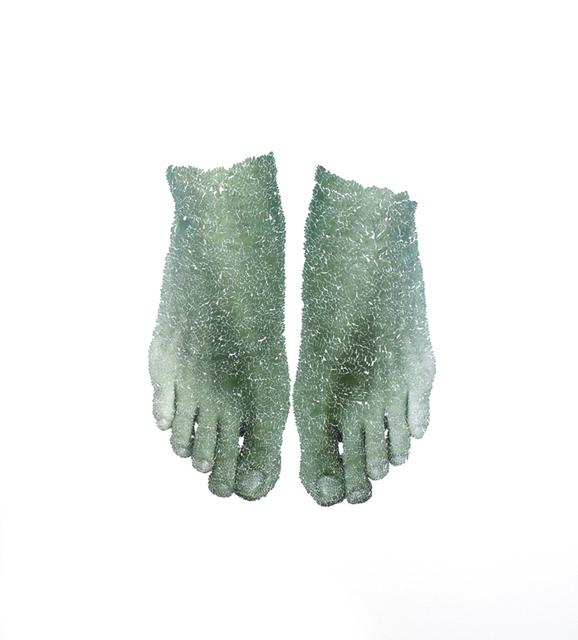 , 'Feet #1,' 2015, Muriel Guépin Gallery