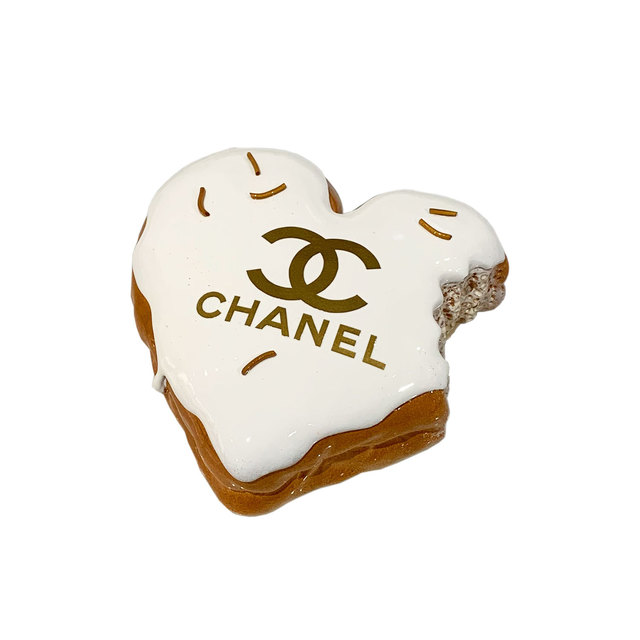 "Eva Post Ruben Verheggen, '""HEART DONUT"" Chanel Gold', 2019, A.Style"