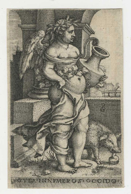 , 'Gula [Gluttony], from The Seven Mortal Sins,' ca. 1541, Childs Gallery