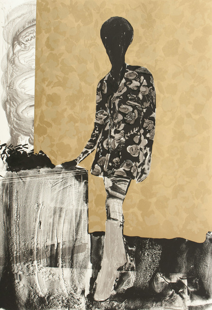 , 'Mrs. S. Keita - Black and Gold,' 2010, Durham Press, Inc.