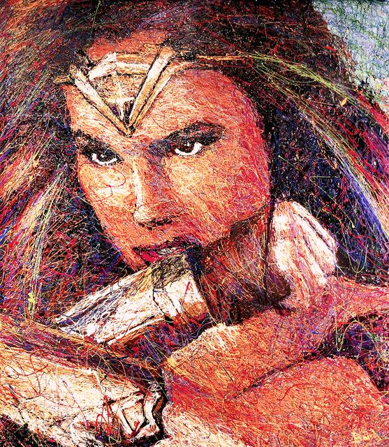 , 'Wonder Woman,' 2018, Angela King Gallery