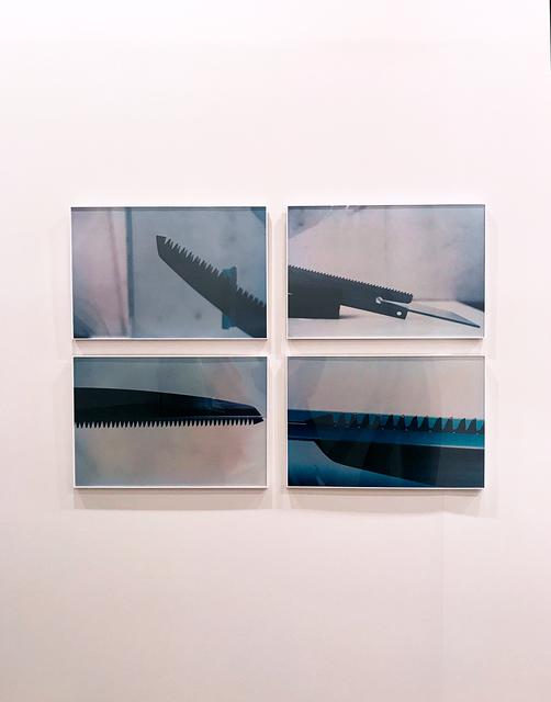 , 'Série Faca na água,' 1981, Galeria Raquel Arnaud