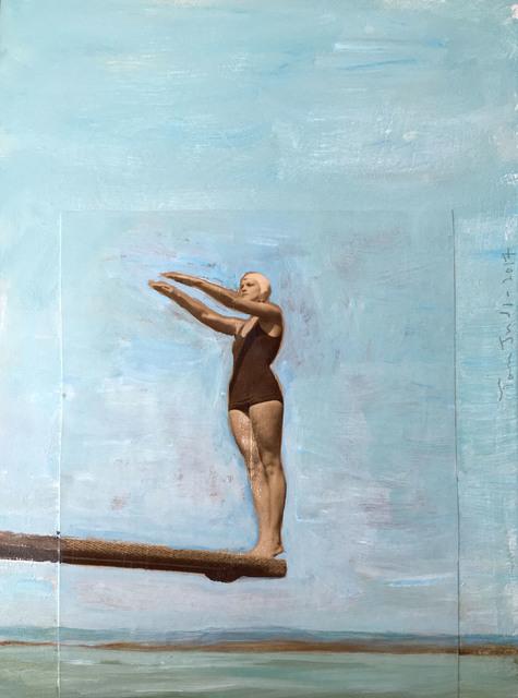, 'Standing Diver,' 2017, Sue Greenwood Fine Art