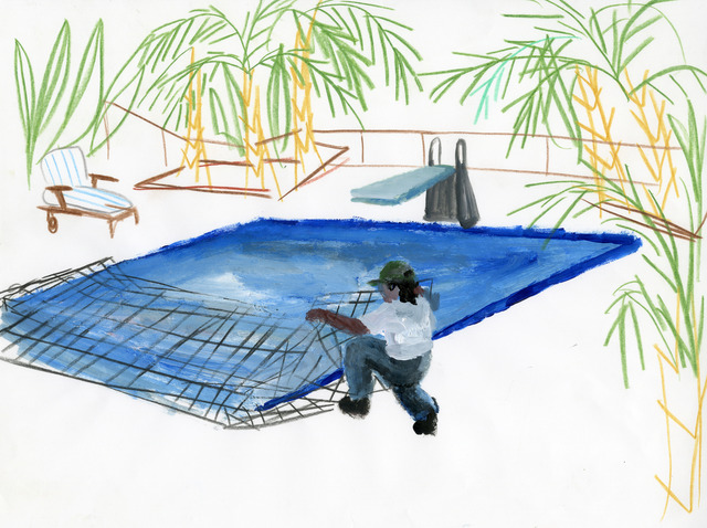 , 'Untitled (Pool Man),' 2012, CuratorLove