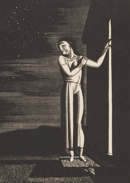 , 'Starry Night,' 1933, Keene Arts