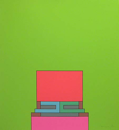 , 'The Heavenly Suite (green),' 1971, Bernard Jacobson Gallery