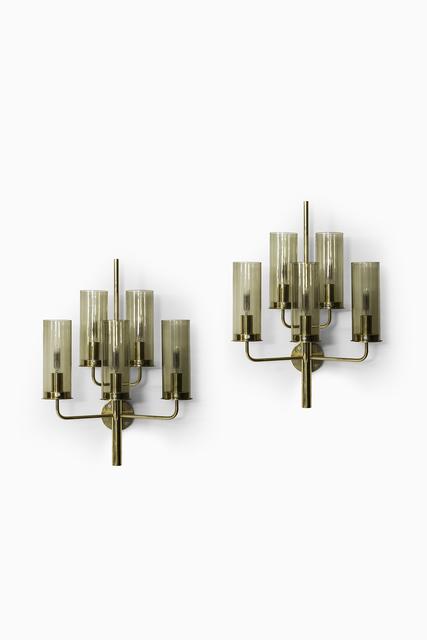 , 'Hans-Agne Jakobsson wall lamps model V-169,' ca. 1950, Studio Schalling