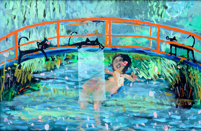 , 'The Temptation of Nature, Monet,' 2017, Albareh Art Gallery