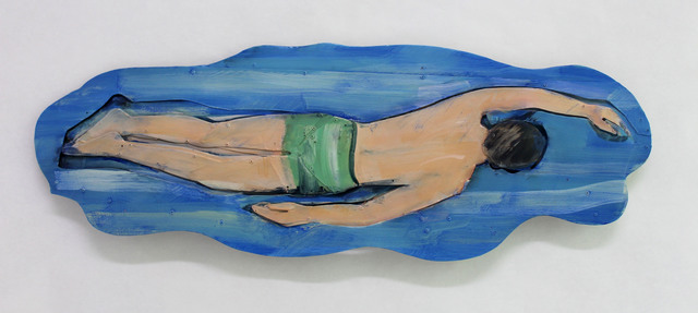 , 'Pacific Swimmer,' 2016, Albert Merola Gallery