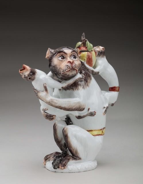 , 'Monkey teapot,' ca. 1735, Michele Beiny Inc.