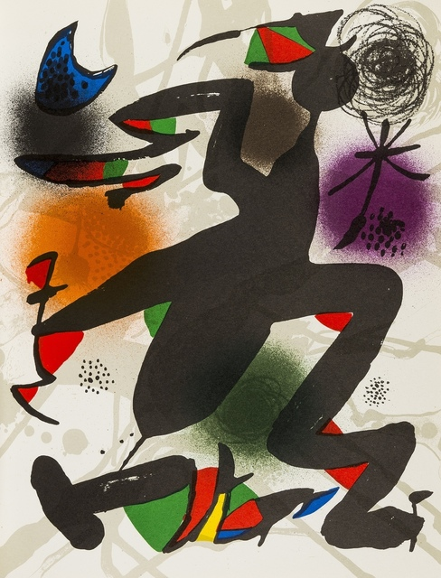 Joan Miró, 'Lithographies III', 1977, Forum Auctions