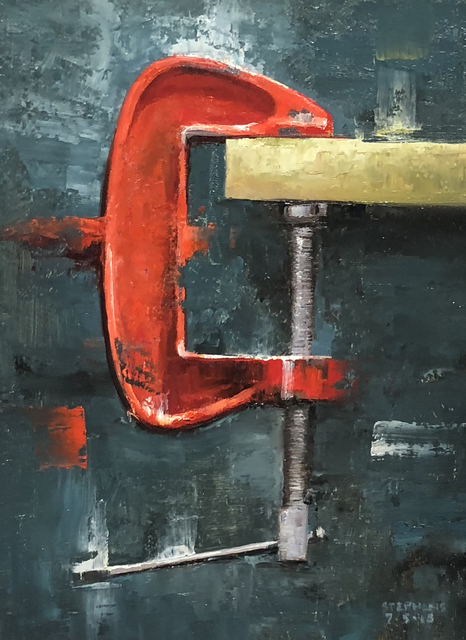 , 'Red C-Clamp,' , Sparrow Gallery