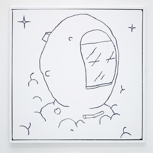 , 'Ben Jones Comics Panel #1 (Astronaut),' 2016, The Hole