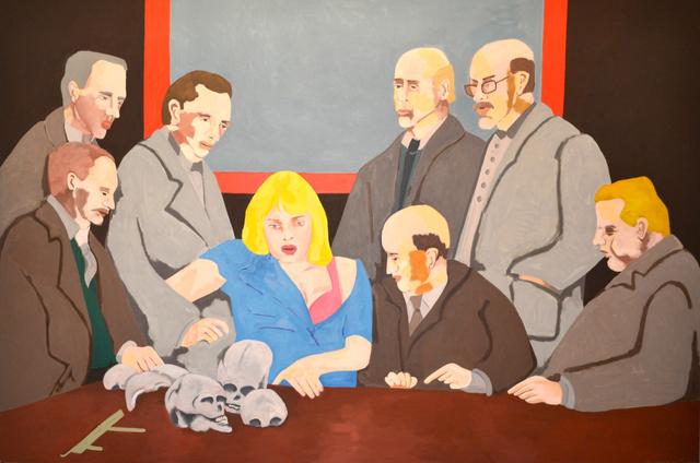 Ad Gerritsen, 'De Beschouwers', 1991, O-68