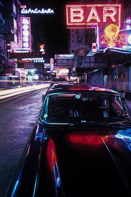 , 'Neon and Black Jaguar ,' 1975, Blue Lotus Gallery