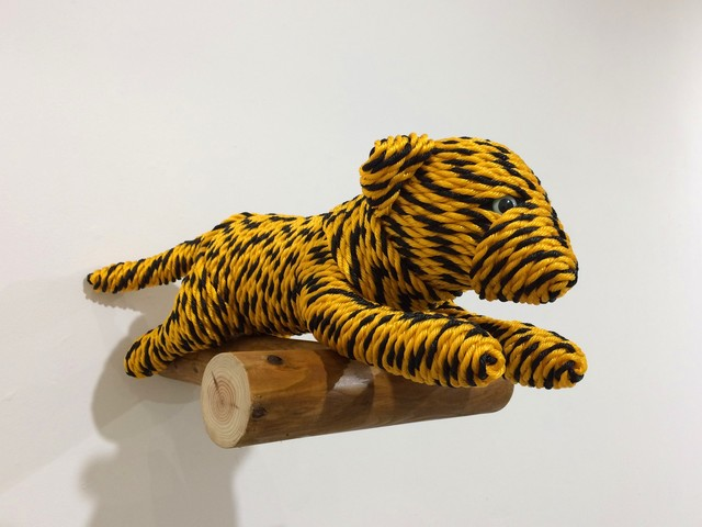 , 'Baby Tiger, from Tiger Rope Pattern,' , eitoeiko