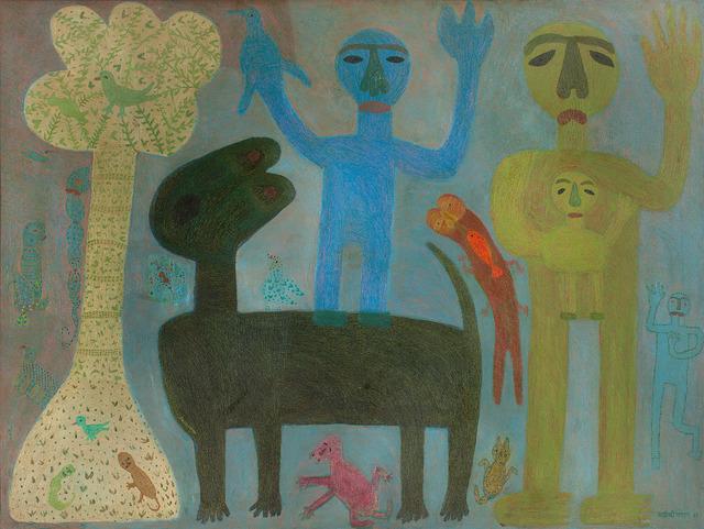 , 'Horse rider in the moonlight,' 1982, DAG