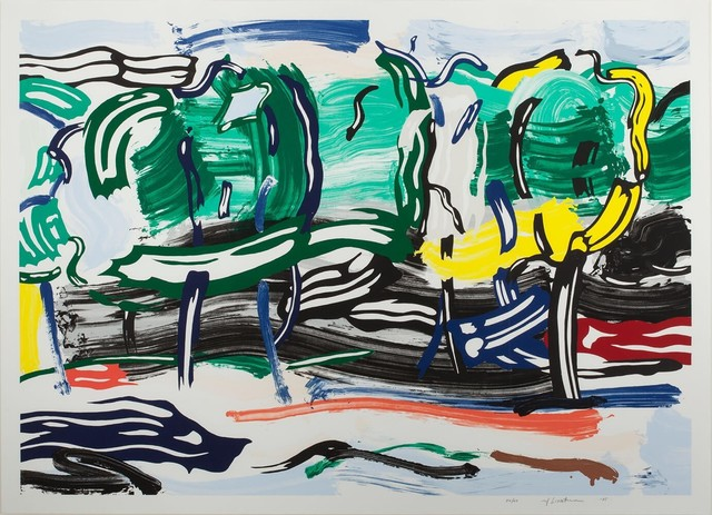 Roy Lichtenstein, 'Road Before the Forest, from the Landscapes series', 1985, Kings Wood Art