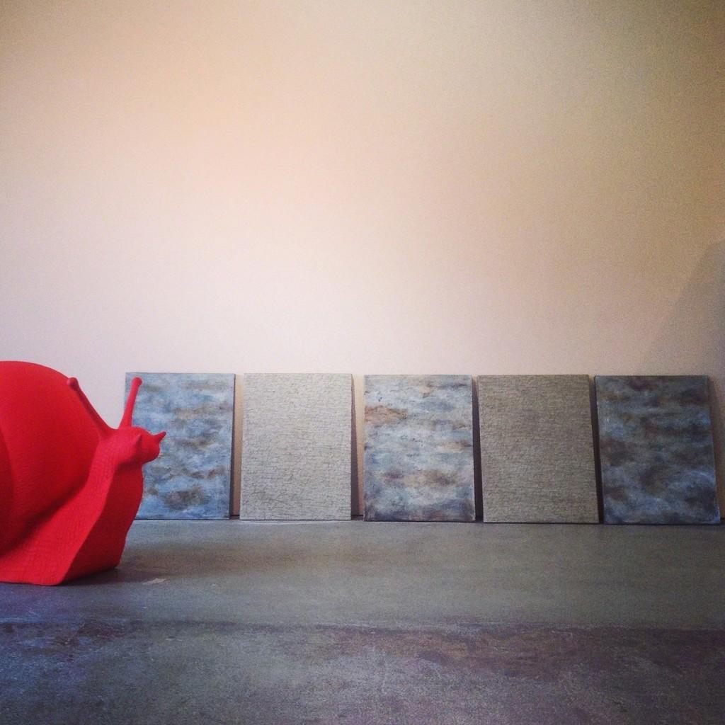 """2,977"" by Alfredo Rapetti Mogol ready for hanging"