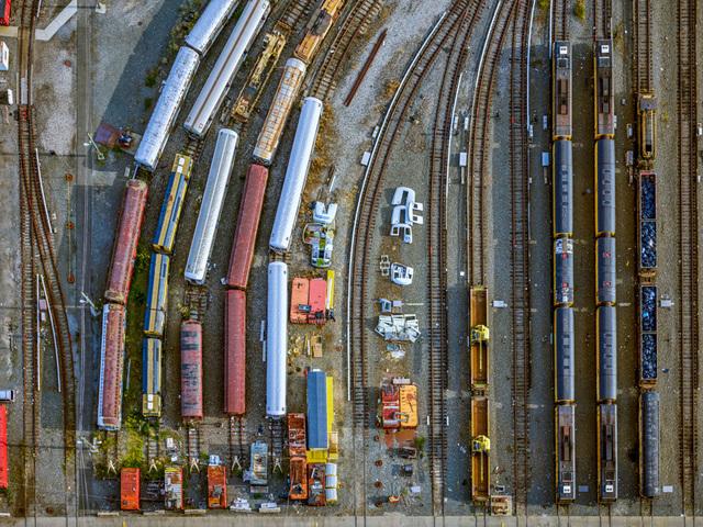 , 'NYC Coney Island Subway Yard,' 2017, Benrubi Gallery