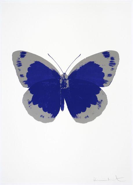 , 'The Souls II - Westminster Blue - Silver Gloss,' 2010, Samuel Owen Gallery