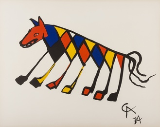 Alexander Calder, 'Untitled (from Flying colours),' 1974, Forum Auctions: Editions and Works on Paper (March 2017)