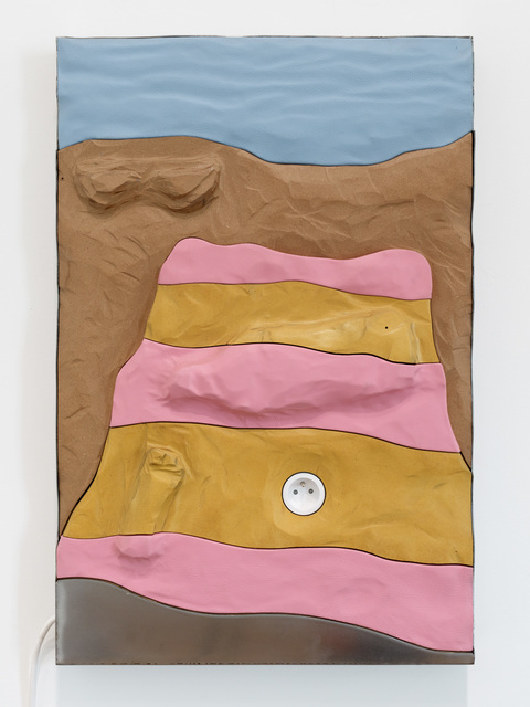 , 'Pink and Yellow towel,' 2019, Mendes Wood DM