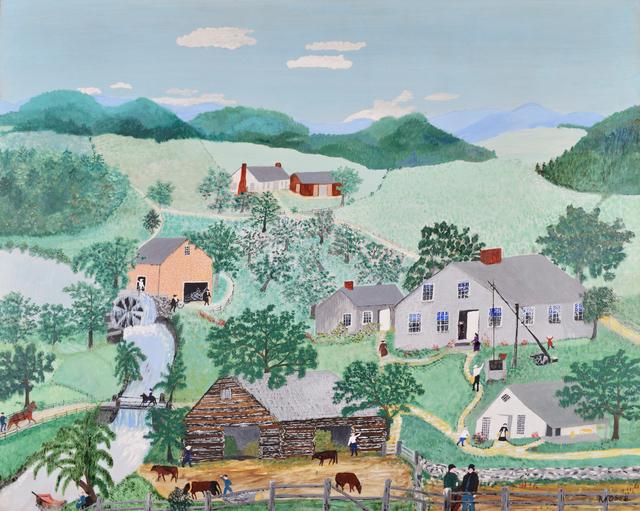 , 'The Old Oaken Bucket,' 1949, Galerie St. Etienne
