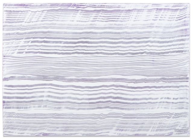 , 'White Over Violet 3,' 2016, Sundaram Tagore Gallery