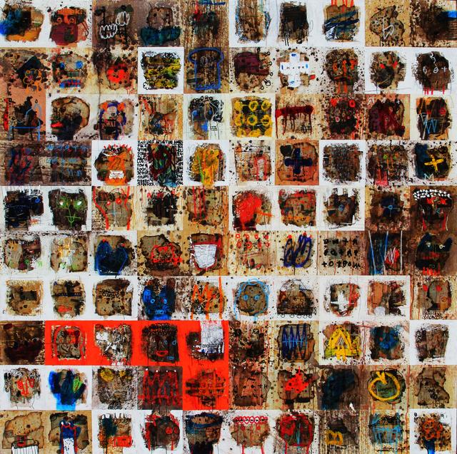 , 'Burning Series,' 2017, REDSEA Gallery