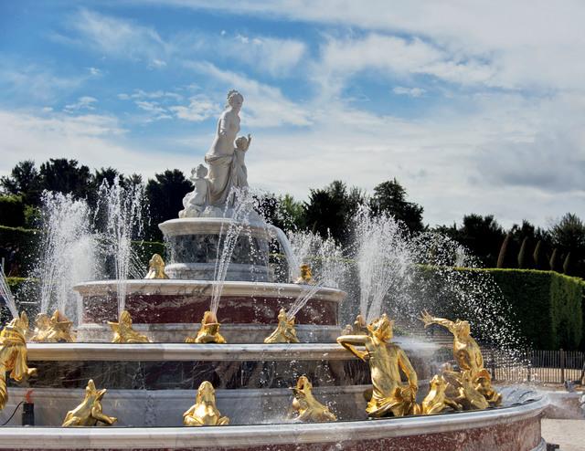 , 'Le bassin de Latone (Latona's Fountain),' , Château de Versailles