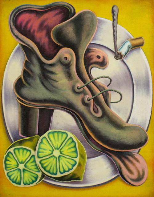 , 'Boot With Lime and Cigarette on Plate,' 2018, New Image Art