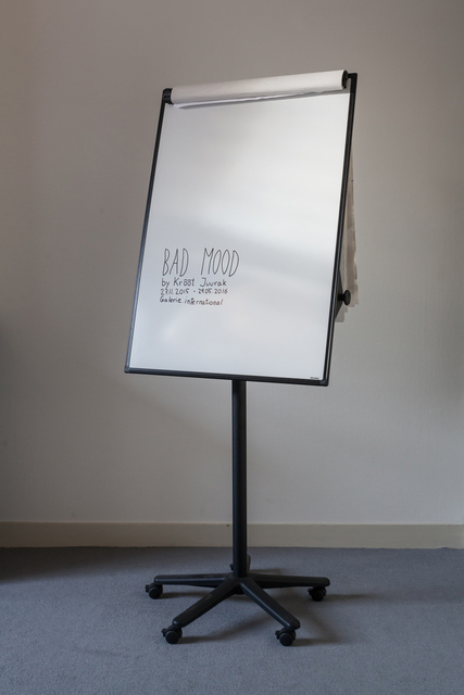 , 'Bad Mood,' 2015, International Manifesta Foundation
