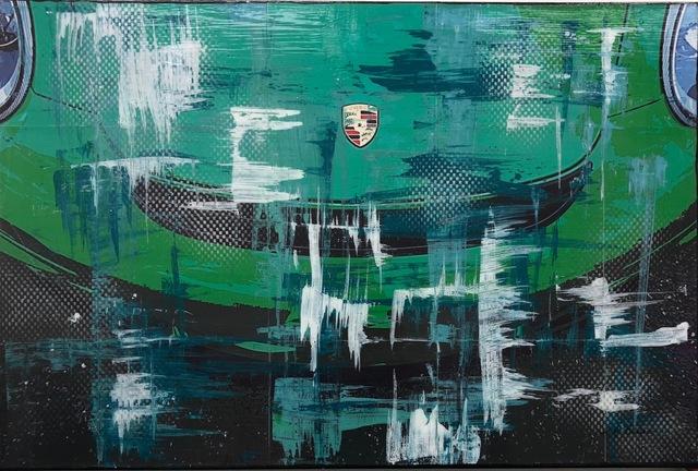 , 'Viper Green GTS RS (Porshe),' 2016, CGB Fine Art