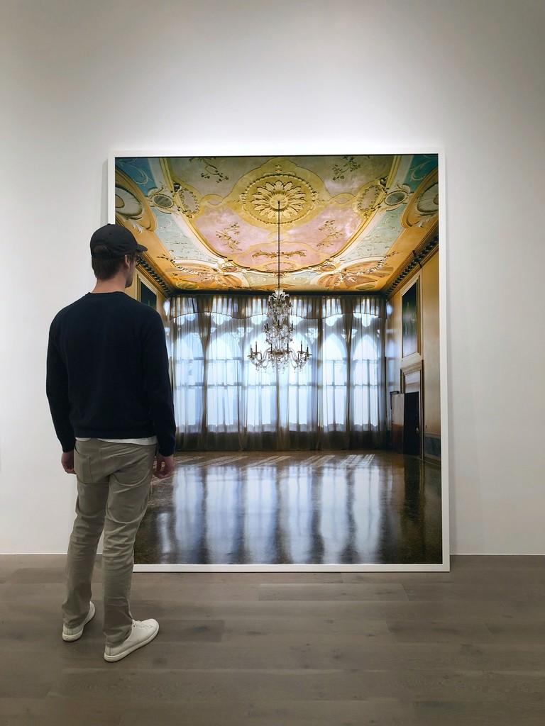 Michael Eastman: Chandelier, Venice