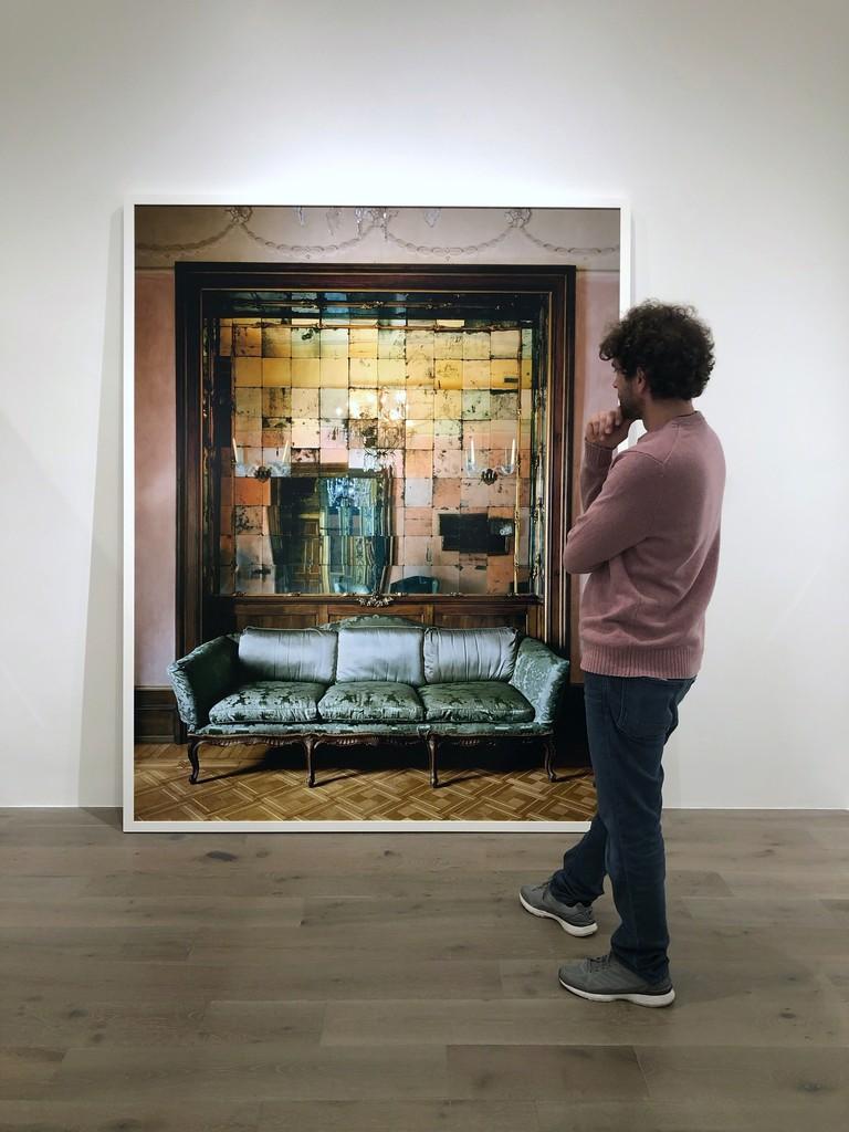 Michael Eastman: Mirror Grid #2, Milan