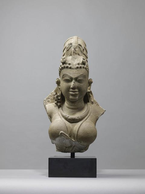 , 'Bust of Vishnu,' 10th century, Rossi & Rossi