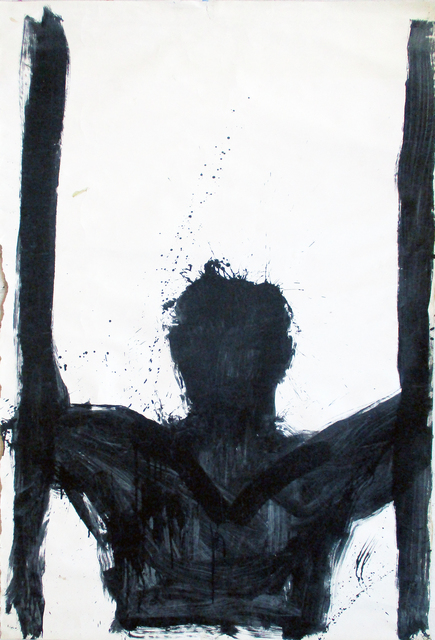 , 'Untitled (Torso with Verticals),' 1994, The Painting Center