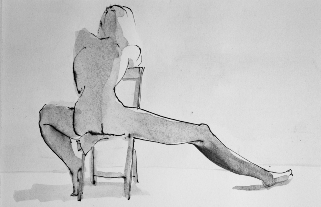 , 'Untitled Figure Drawing,' 1995-1997, Untitled 2.0