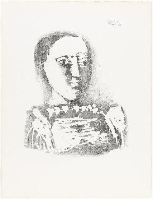 Pablo Picasso, 'LE CHANDAIL BRODÉ (B. 729)', 1953, Doyle