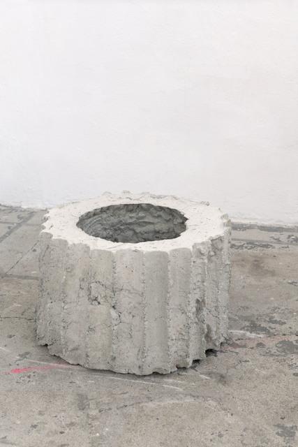 Mischa Sanders & Philipp Putzer, 'Sans titre #2', 2021, Sculpture, Concrete and clay, OH GALLERY