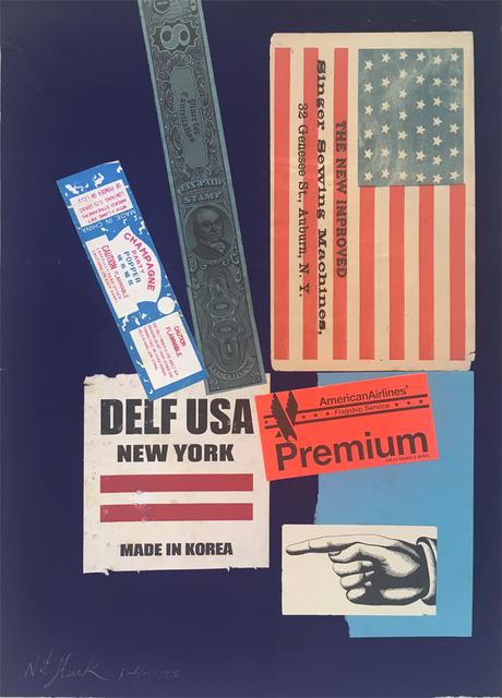 , 'USA Premiuim (38 States = 1876),' 2000, Luis De Jesus Los Angeles
